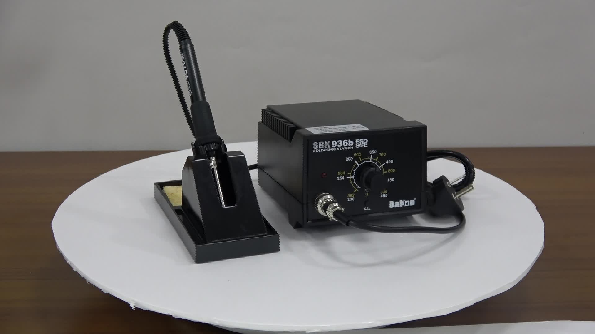SBK936b Temperature control and adjustable soldering iron station