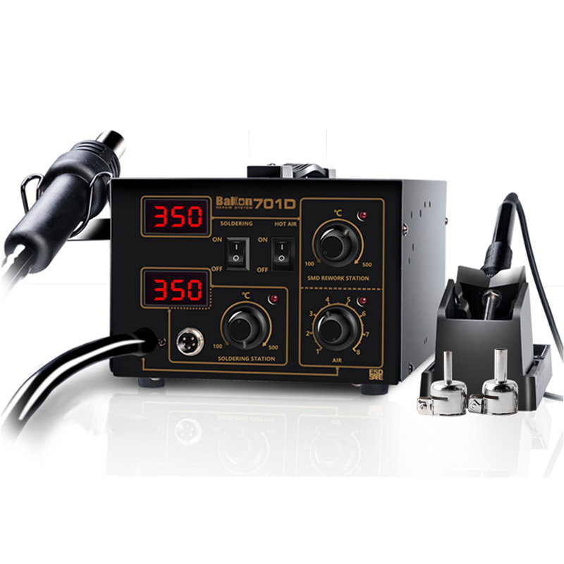 Bakon hot air gun smd rework soldering station machine