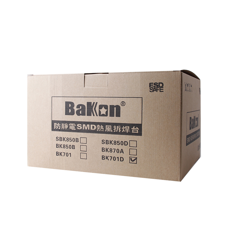 Bakon 60w esd password protection top quality rework soldering station